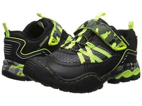 Jambu Kids - Tahr (Toddler/Little Kid/Big Kid) (Black/Neon Lime) Boys Shoes