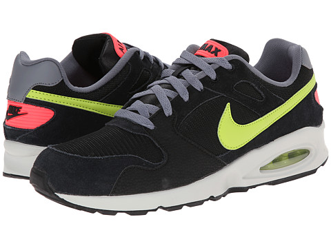 Nike - Air Max Coliseum Racer (Black/Cool Grey/Pure Platinum/Fierce Green) Men's Shoes