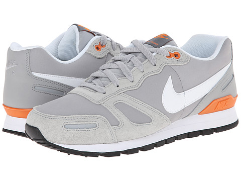 Nike - Air Waffle Leather Trainer (Wolf Grey/Black/Copper Flash/White) Men's Shoes