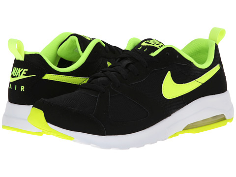 Nike - Air Max Muse (Black/Volt) Men's Shoes