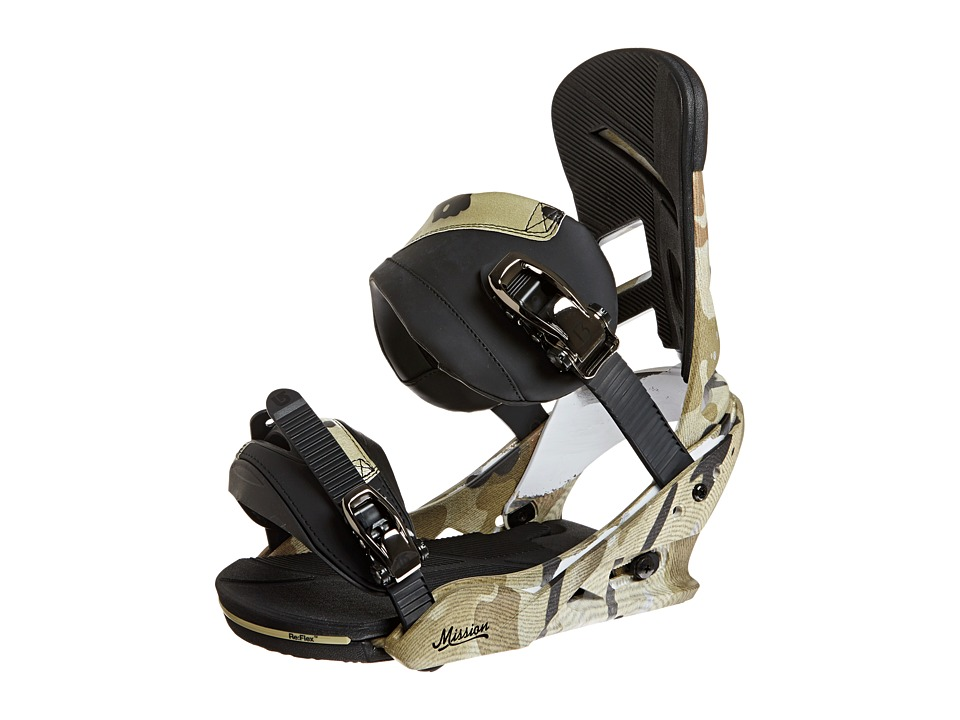 Burton - Mission (Camo Toe) Snowboards Sports Equipment