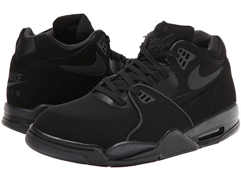 Nike - Air Flight '89 (Black/Anthracite) Men's Classic Shoes