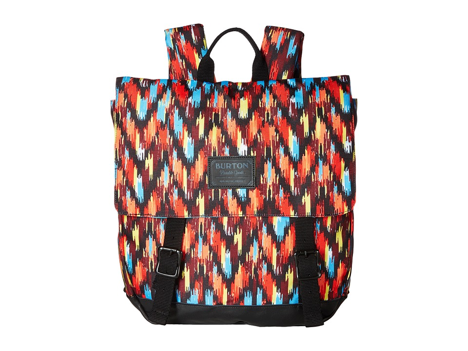 Burton - Taylor Pack (Ikat Stripe Canvas) Backpack Bags