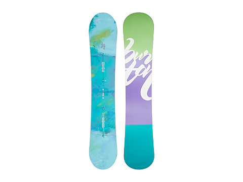 Burton - Feather 152 (Multi) Snowboards Sports Equipment