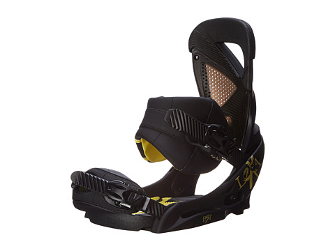 Burton - Lexa EST (Black/Yellow) Snowboards Sports Equipment