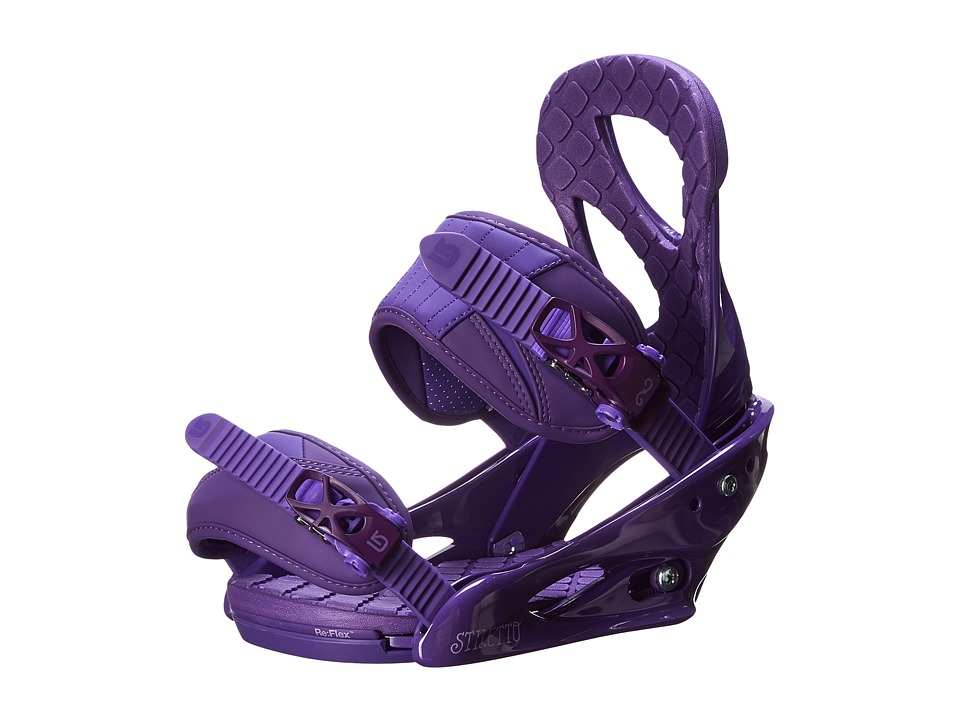 Burton - Stiletto (Purple) Snowboards Sports Equipment