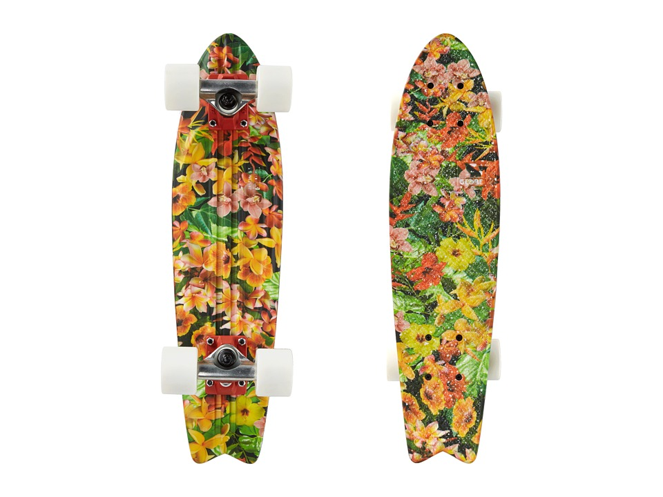 Globe - Bantam ST Graphic (Tropical) Skateboards Sports Equipment