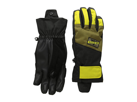 Burton - Approach Under Glove (True Black/Hickory/Toxin) Snowboard Gloves