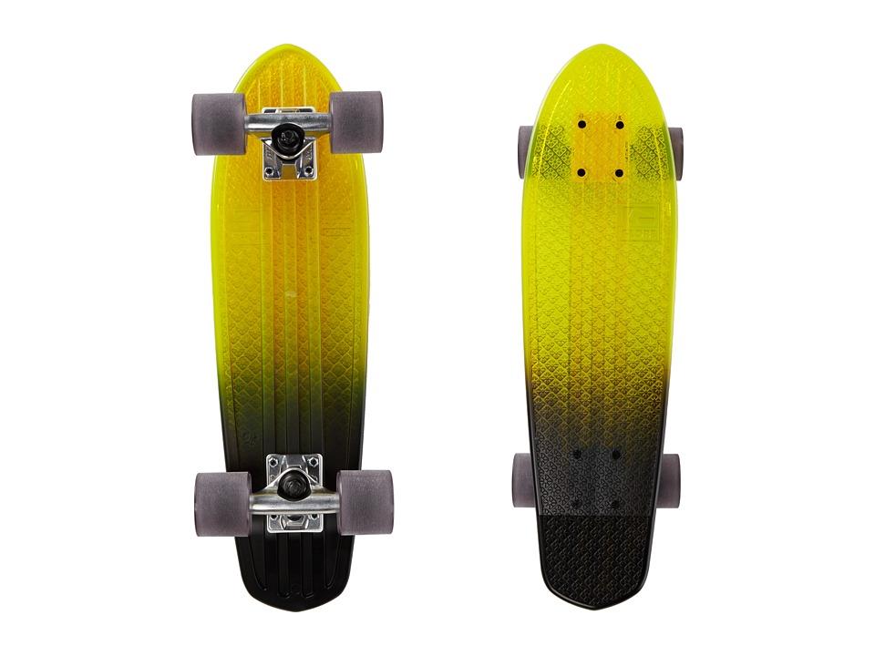 Globe - Bantam Beach Glass (Yellow/Black Fade) Skateboards Sports Equipment