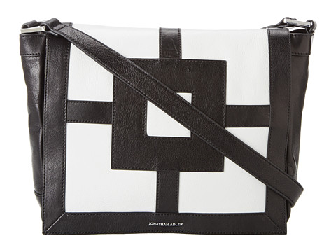 Jonathan Adler - Nixon Crossbody (Black/Lily White) Cross Body Handbags