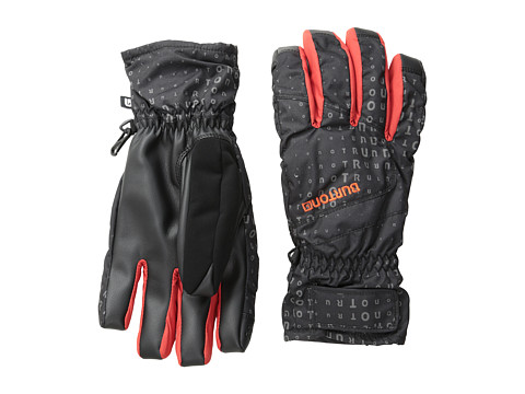 Burton - Profile Under Glove (True Black Corpo Print) Snowboard Gloves