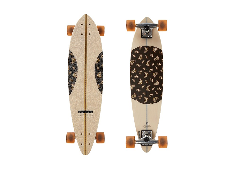 Globe - Paisley Fibercarve (Natural/Paisley) Skateboards Sports Equipment