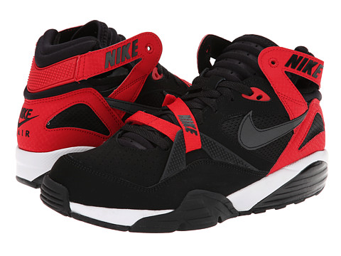 Nike - Air Trainer Max '91 (Black/University Red/White/Black) Men's Shoes