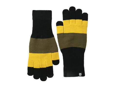 Burton - Touch N Go Knit Glove (Goldenrod Colorblock) Extreme Cold Weather Gloves