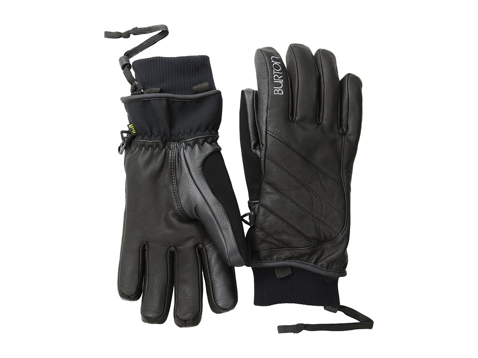 Burton - Favorite Leather Glove (True Black 2) Snowboard Gloves