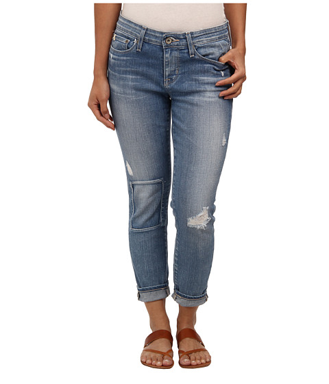 Big Star - Petite Alex Mid Rise Skinny Crop in Sunsetter (Sunsetter) Women's Jeans