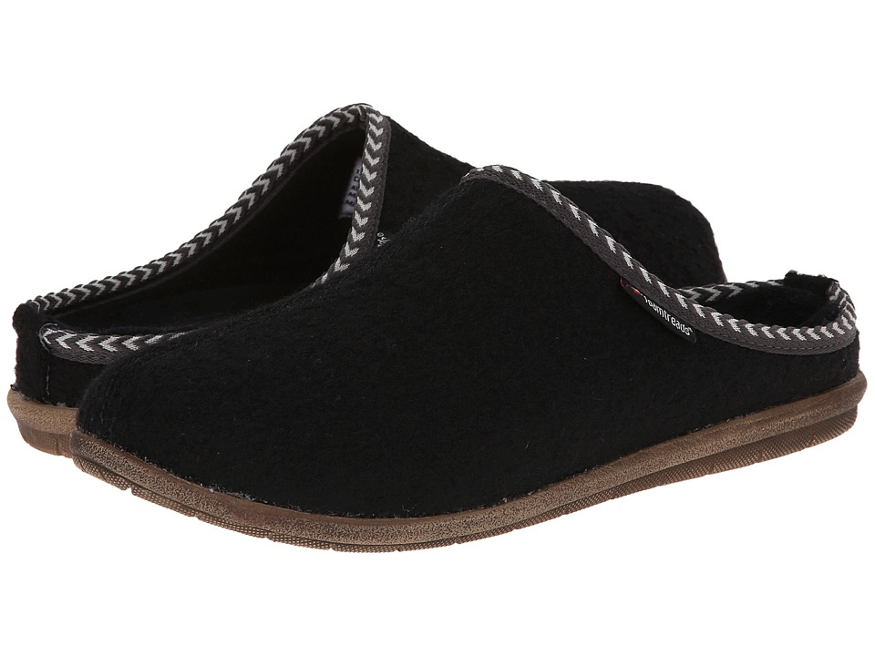 Foamtreads - Concord (Black) Men's Slippers