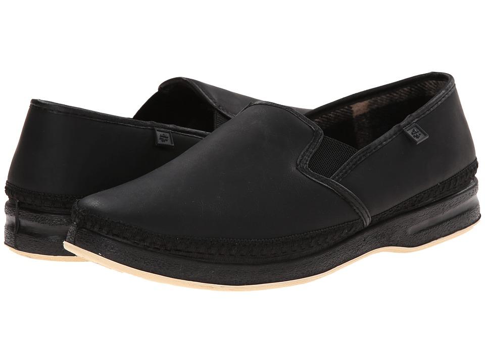 Foamtreads - Davenport (Black) Men's Slippers