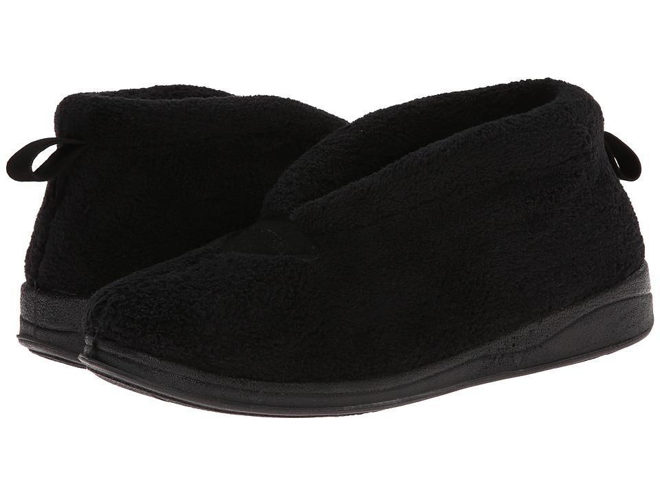 Foamtreads - Cashmere (Black) Women's Slippers
