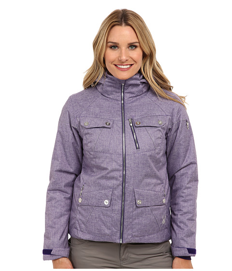 Spyder - Evar Jacket (Regal Crosshatch) Women's Coat