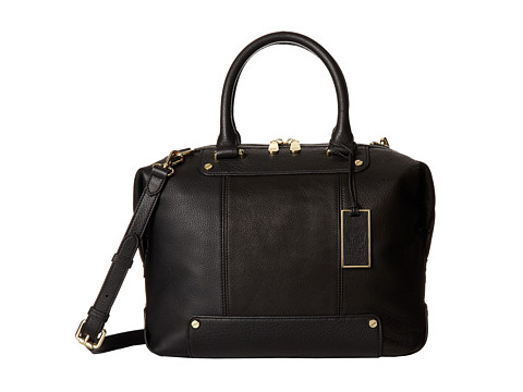 Vince Camuto Jill Satchel (Black) Satchel Handbags