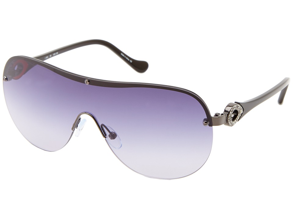 Ivanka Trump - Austrian Crystal Shield (Gunmetal) Fashion Sunglasses