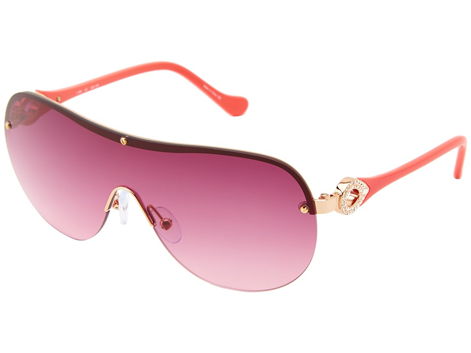 Ivanka Trump - Austrian Crystal Shield (Rose Gold) Fashion Sunglasses