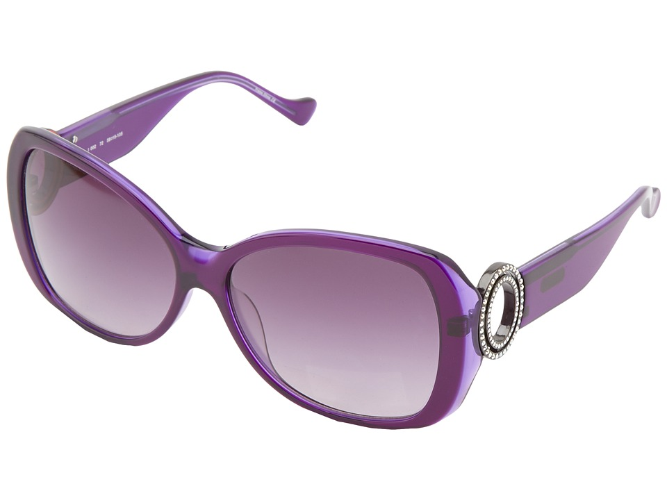 Ivanka Trump - Austrian Crystal Full Rim Butterfly (Purple) Fashion Sunglasses