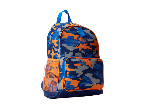 Crocs - Backpack Lunchbag Combo (Navy/Orange Camo) Backpack Bags