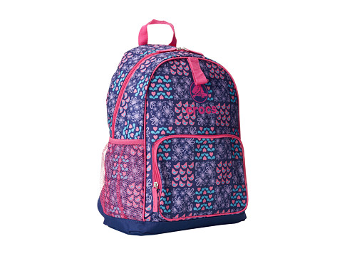 Crocs - Backpack Lunchbag Combo (Navy) Backpack Bags