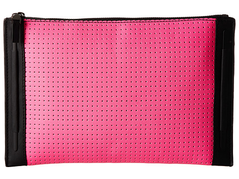 French Connection - Perforation Celebration Clutch (Pink) Clutch Handbags