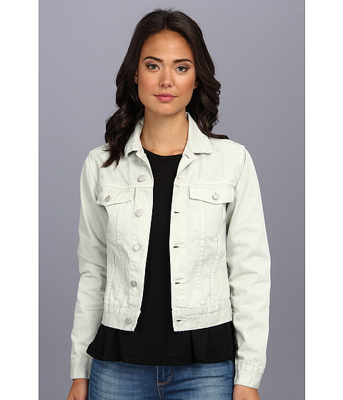 Cheap Monday - Vital Denim Jacket (Dirty White) Women's Coat