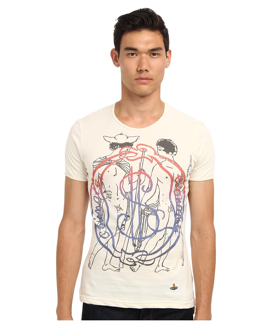 Vivienne Westwood MAN - Runway Gold Label Pilgrim Tee (Natural) Men
