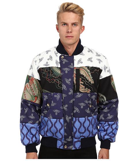 Vivienne Westwood MAN - Runway Anglomania Robinson Crusoe Puffer Jacket (Multi) Men's Coat