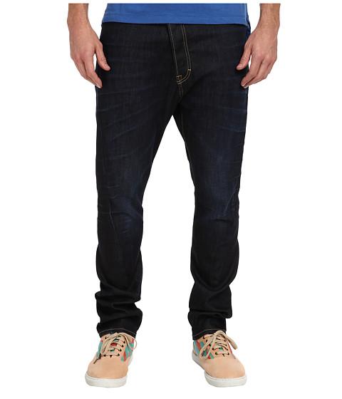 Vivienne Westwood MAN - Anglomania Asymmetrical Jean (Blue Denim) Men's Jeans