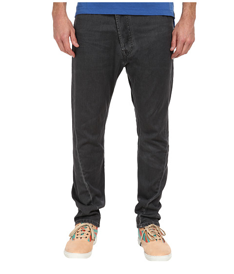 Vivienne Westwood MAN - Anglomania Asymmetrical Jean (Grey Denim) Men's Jeans