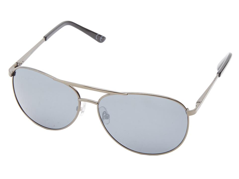 Anarchy Eyewear - Air Boss (Gun/Smoke Polarized) Sport Sunglasses