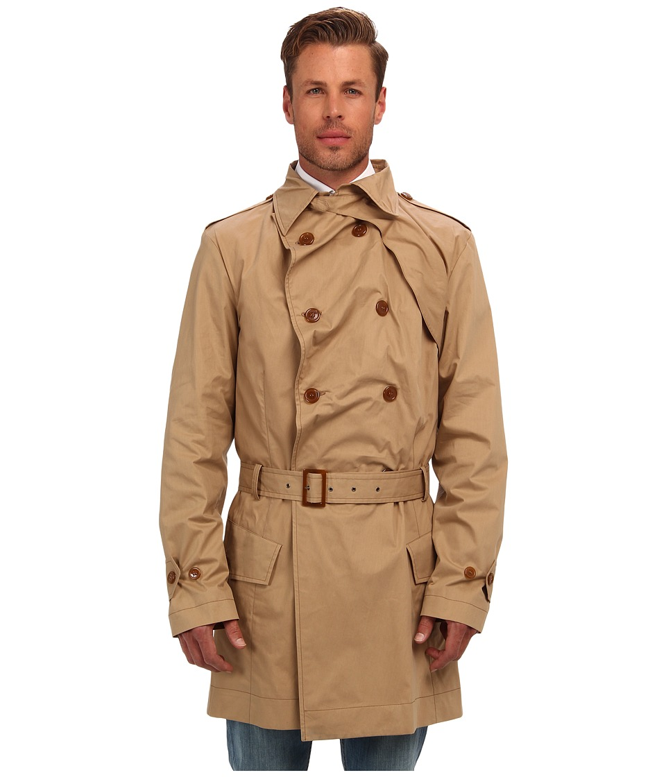 Vivienne Westwood MAN - Waterproof Macintosh (Camel) Men's Coat