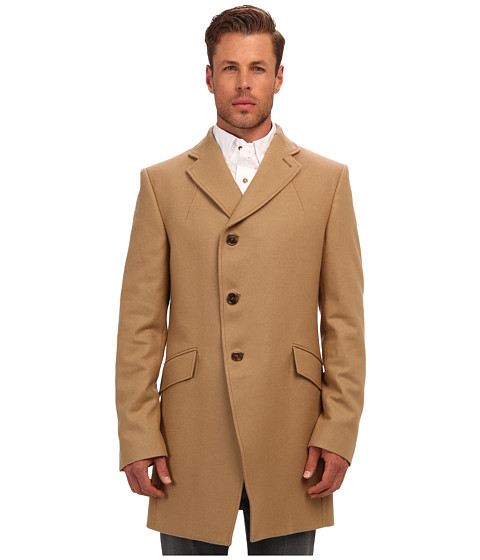 Vivienne Westwood MAN - Classic Wool Melton (Camel) Men's Coat