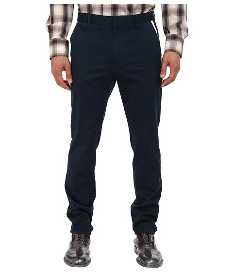 Vivienne Westwood MAN - Cotton Twill Trouser (Petrol) Men's Casual Pants