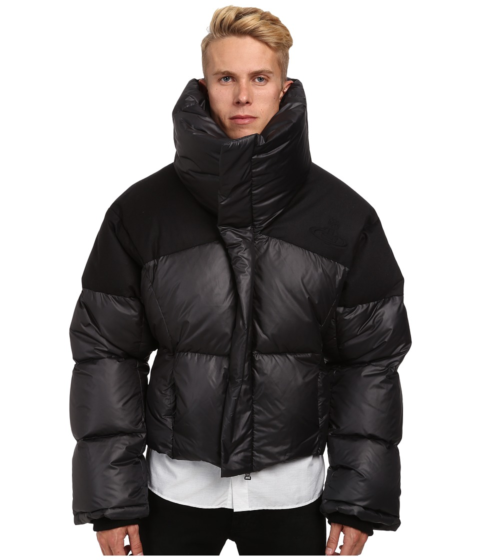 Vivienne Westwood MAN - RUNWAY Nylon Puffer (Anthracite) Men