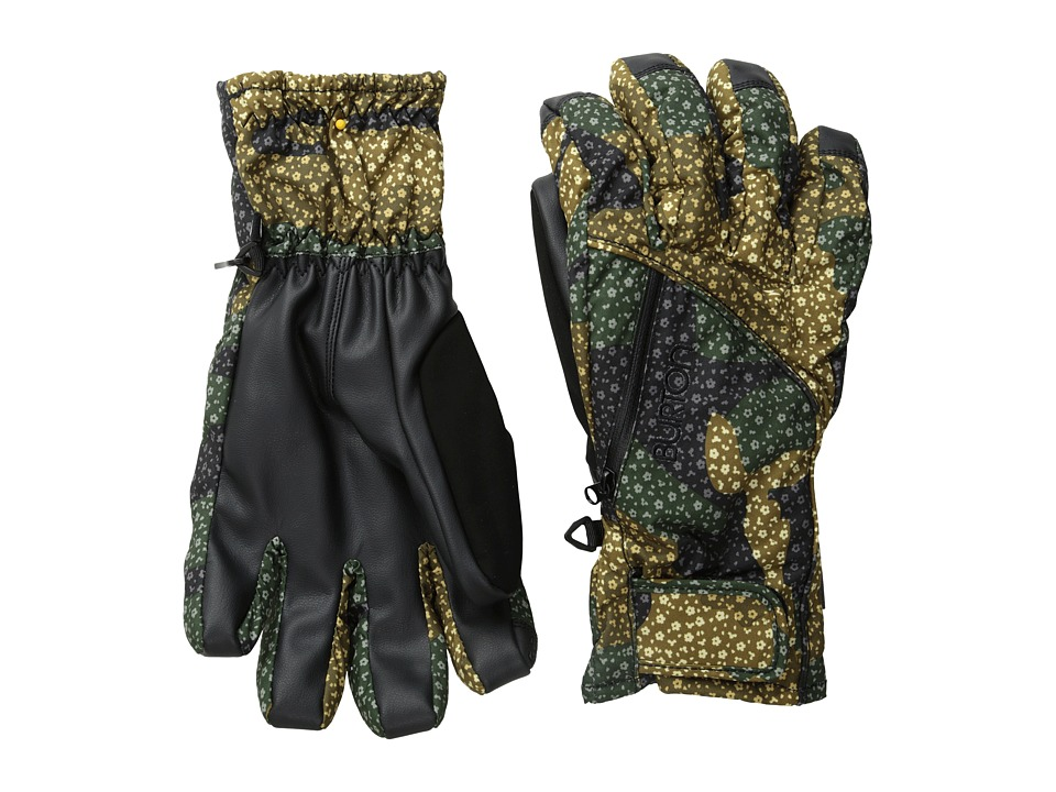 Burton - Baker 2-In-1 Under Glove (Floral Camo) Extreme Cold Weather Gloves