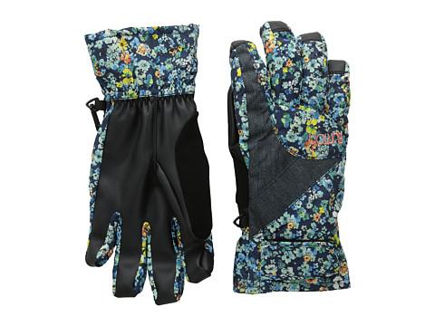 Burton - Approach Under Glove (Confetti Floral/Denim) Extreme Cold Weather Gloves