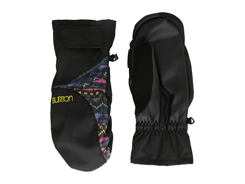 Burton - Approach Under Mitt (True Black/Fun Fair) Extreme Cold Weather Gloves