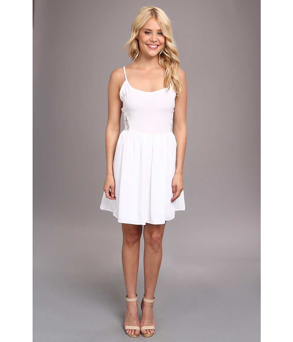 Jack by BB Dakota - Reed Dress (White) Women's Dress