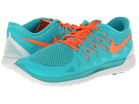 Nike - Nike Free 5.0 '14 (Hyper Jade/Hyper Turquoise/Summit White/Hyper Crimson) Women's Running Shoes