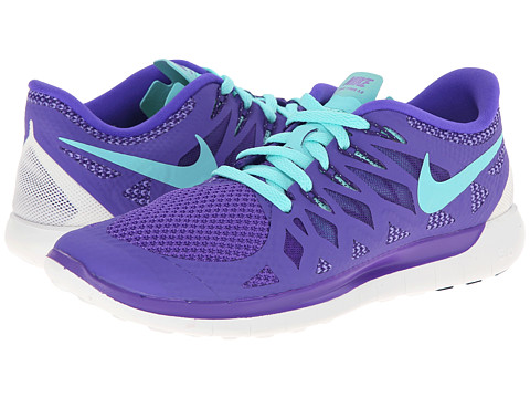 Nike - Nike Free 5.0 '14 (Hyper Grape/Court Purple/Summit White/Hyper Turquoise) Women's Running Shoes
