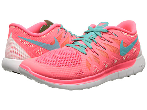 Nike - Nike Free 5.0 '14 (Hyper Punch/Bright Mango/Summit White/Hyper Jade) Women's Running Shoes