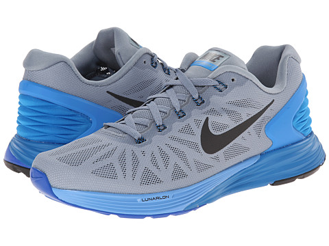 Nike - Lunarglide 6 (Magnet Grey/Photo Blue/University Blue/White) Women