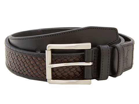 Tommy Bahama - Hahn Belt (Black/Brown) Men